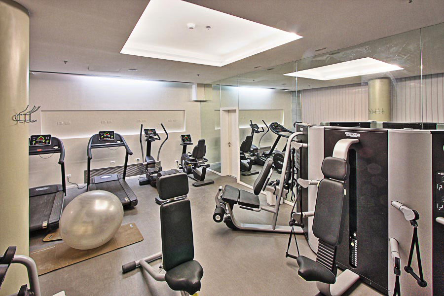 Fitness Room in Building