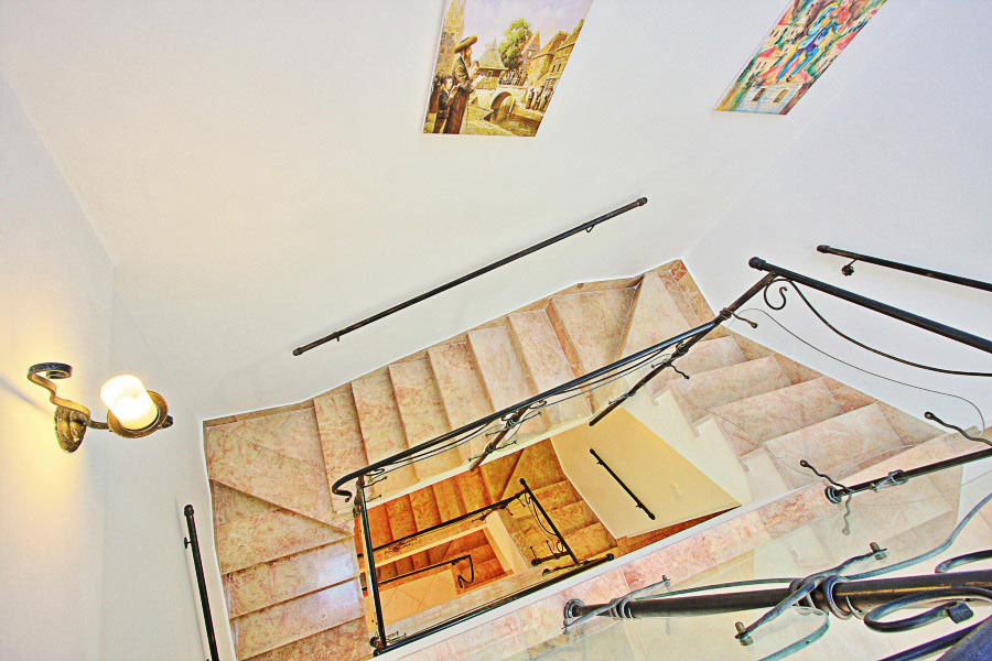 Stairs from the Top Floor
