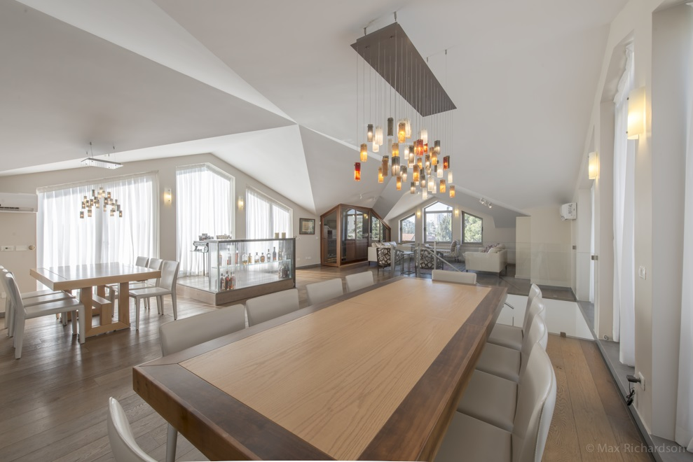 Upper Floor - Dining Room with Sukkah Balcony Attached Photo #2