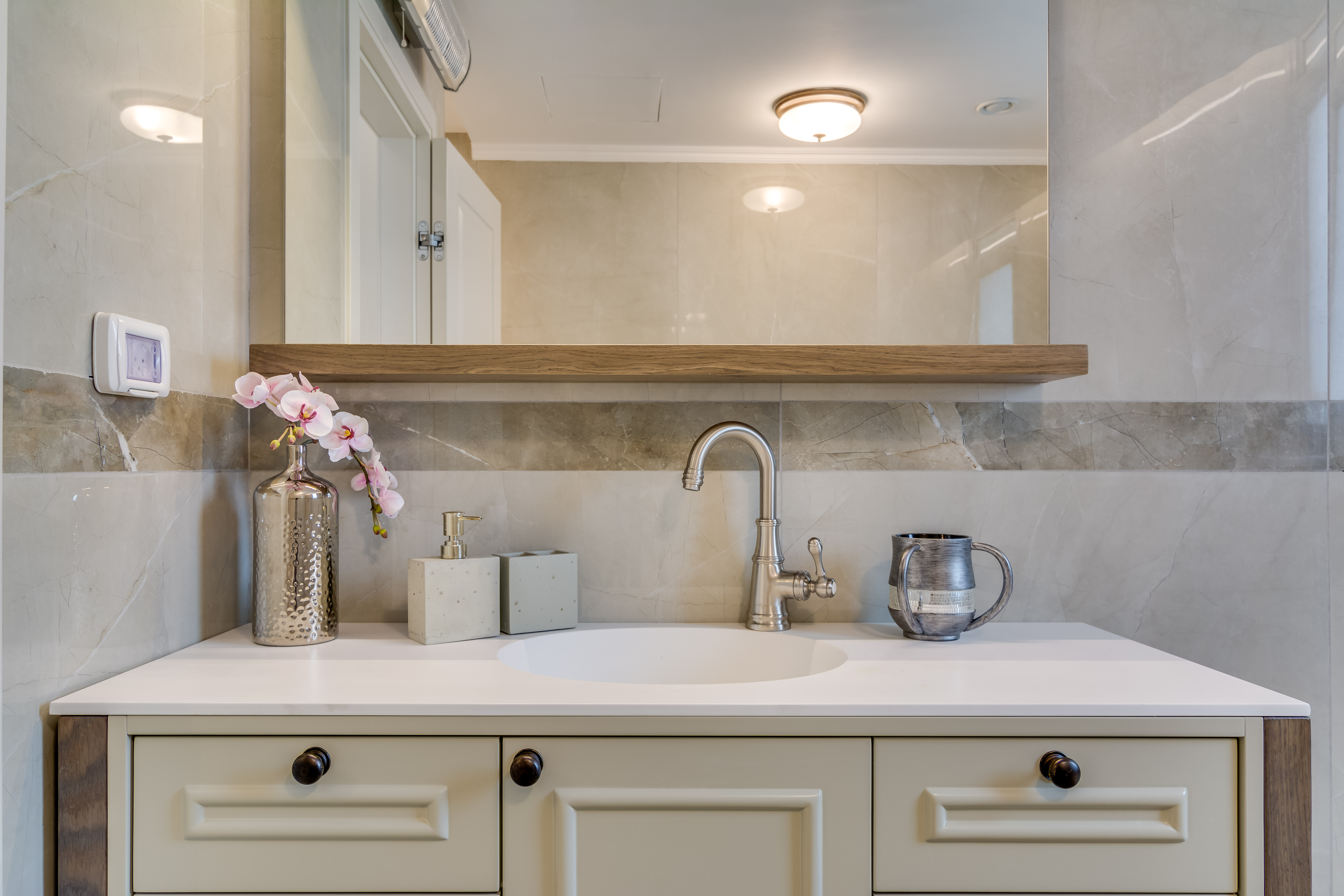 Main Master Bathroom Wash Area-