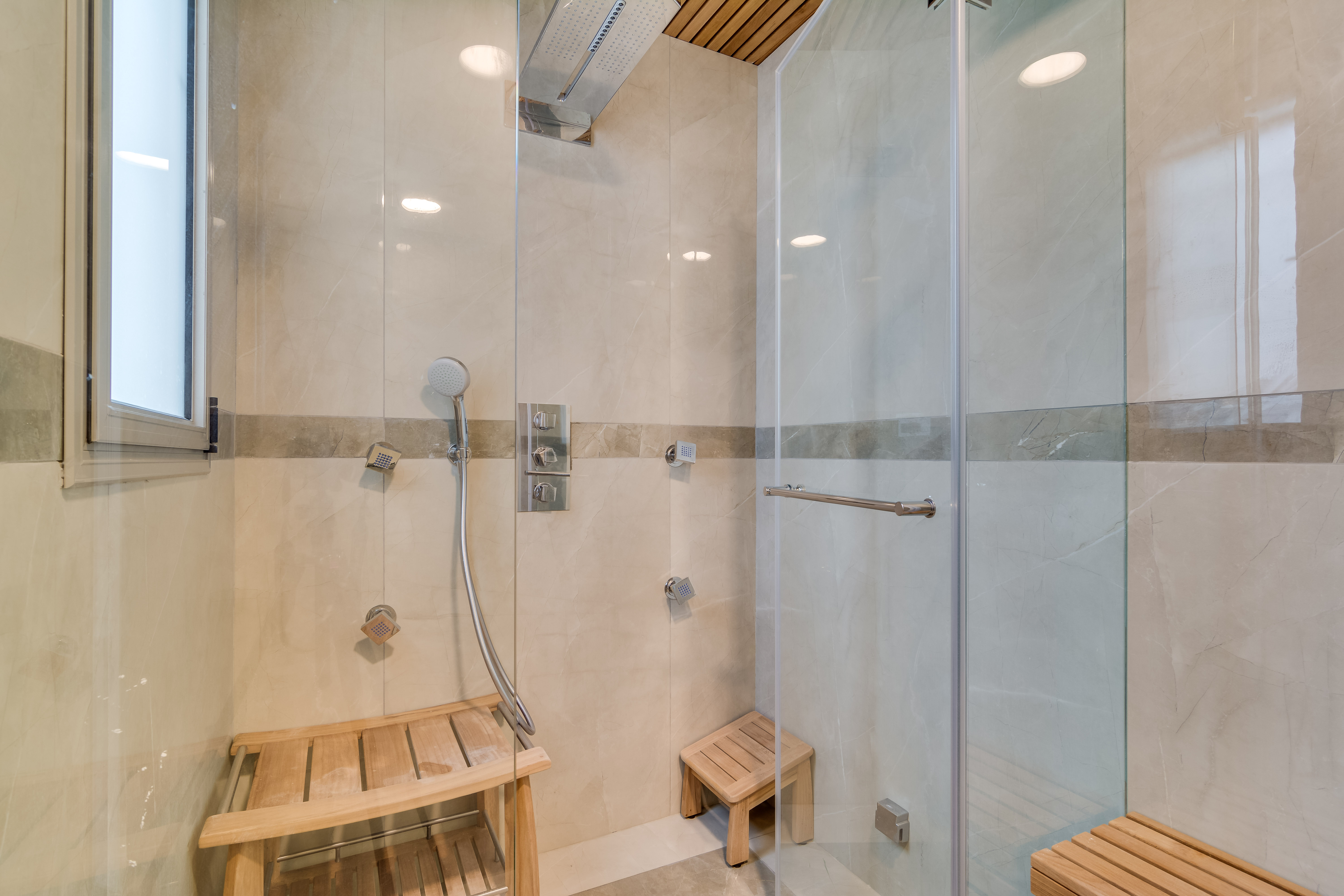 Main Master Bathroom- Turkish Sauna-